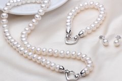 Real-Natural-Freshwater-Pearl-Jewelry-Sets-3PCS-Genuine-Pearl-Necklace-Real-Pearl-Bracelet-Classic-Pearl-Earrings